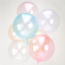 Light Pink Crystal Clearz Balloons - Crystal Clearz Balloons- Free Delivery